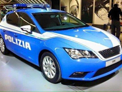 SEAT León, de coche 'macarra' a coche de la policía italiana