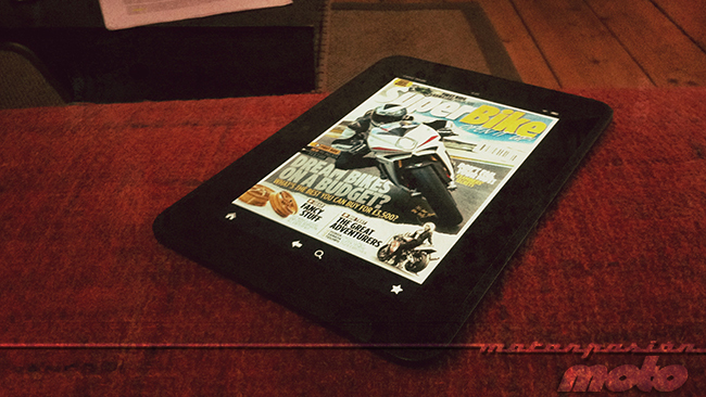 Kindle Fire HD y Superbike