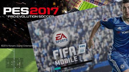 PES 2017 vs. FIFA Mobile 2017: así es jugar en Android a las dos míticas sagas de juegos de fútbol