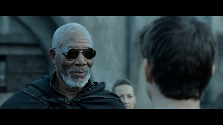 Oblivion Morgan Freeman