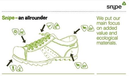 La firma de zapatos Snipe desarrolla un zapato 100% ecológico