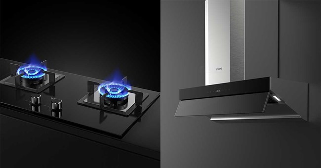 Xiaomi quiere entrar en nuestra cocina y su primera propuesta es un extractor y dos fuegos inteligentes