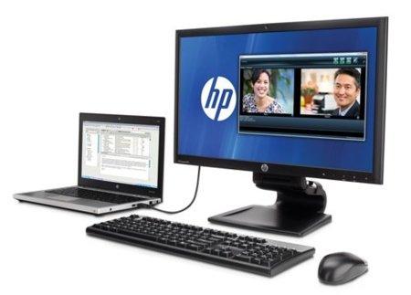HP saca un monitor que es una base para tu portátil