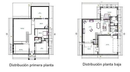 Casas poco convencionales un espectacular loft en for Planos de oficinas pequenas