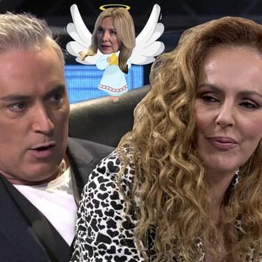 """Belén Rodríguez y este otro directivo, """"los ángeles de la guarda"""" por los que Rocío Carrasco nunca llegó a demandar a Kiko Hernández por llamarla """"mala madre"""""""