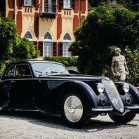 ¡Precioso! Este Alfa Romeo 8C 2900B Berlinetta Touring de 1937, nombrado el mejor coche de Villa d'Este 2019
