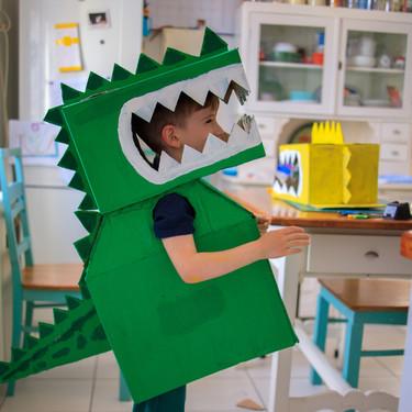 27 manualidades fáciles y divertidas para niños fanáticos de los dinosaurios