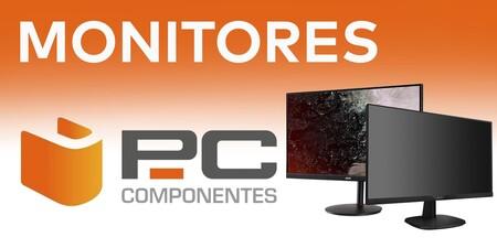 9 monitores ASUS, Lenovo, MSI o Samsung en oferta en PcComponentes con descuentos de hasta un 33%