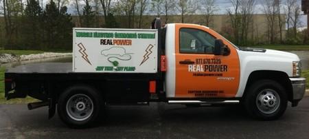 Real Power: un camión con cargador rápido para vehículos eléctricos