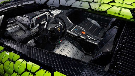 Lamborghini Sian Lego Escala Real 6