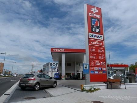 Gasolinera de Cepsa