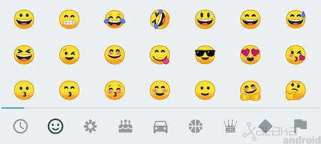 Así son los renovados emojis de Android: por fin serán compatibles en las versiones anteriores