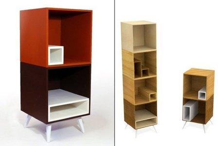 Dado, estantes dentro de otros estantes