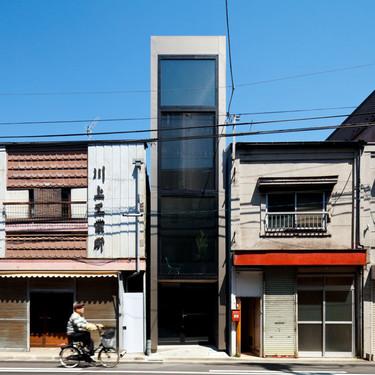 Una casa que mide menos de dos metros de ancho, existe y se encuentra en Tokio.
