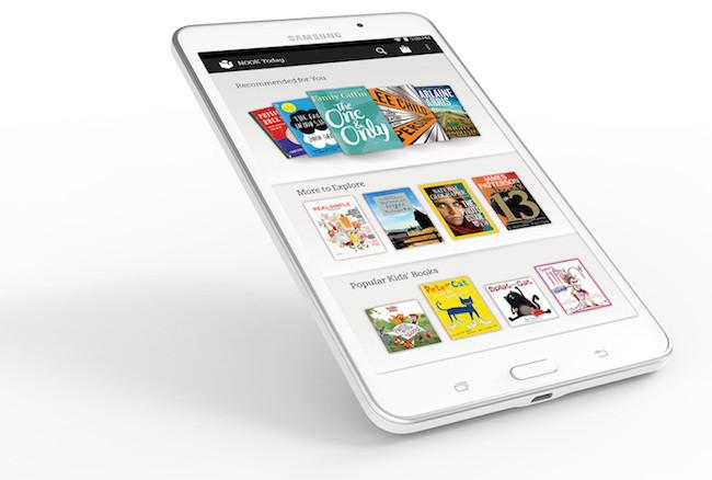 Barnes & Noble y Samsung se alían para traer la nueva tablet Nook
