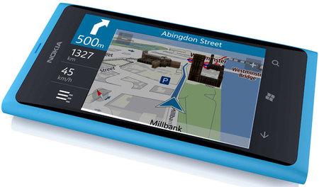 Nokia Maps en un Lumia