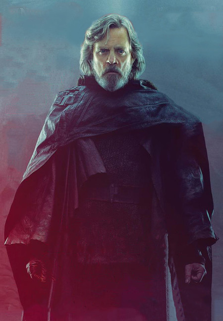 Luke Skywalker en el Episodio VIII