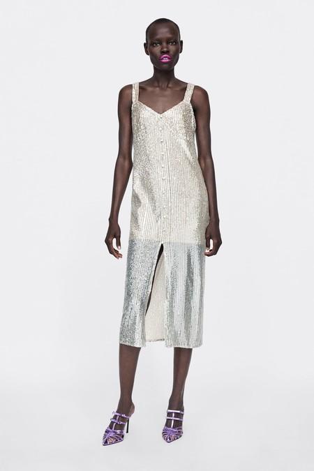Zara Vestidos Lentejuelas 10
