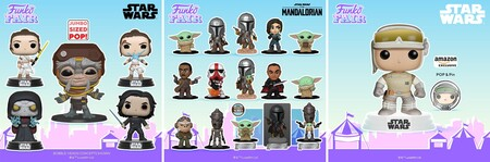 Figuras Funko POP de Star Wars en preventa en Amazon México