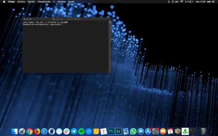 macOS Catalina utilizará zsh en lugar de bash como la shell por defecto