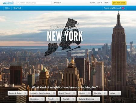 Airbnb elimina 2.000 propiedades para adaptarse a las leyes de Nueva York