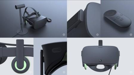 Estas imágenes filtradas podrían apuntar al diseño final de las Oculus Rift