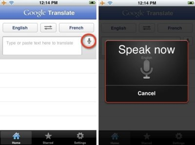 Google Translate llega ahora al iPhone