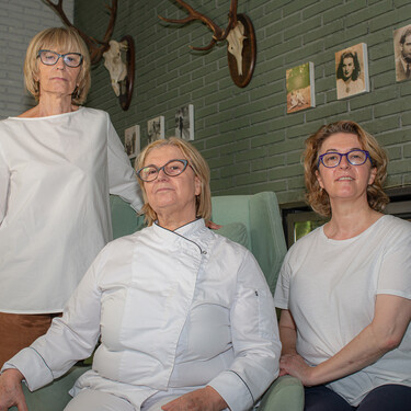 """Las hermanas """"del hotel de Villoldo"""" que han reinventado la cocina palentina (y tienen, según Dabiz Muñoz, la mejor casa de comidas de Madrid)"""
