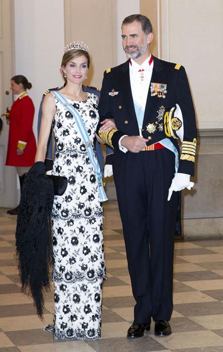 Reyes de España en Dinamarca