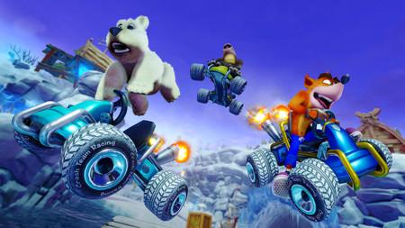 Así luce Crash Team Racing Nitro-Fueled en esta ronda de gameplays y en una comparativa con el juego original