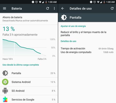 Xiaomi Mi A1 Analisis Autonomia