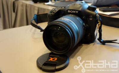 Sony A99, primer contacto