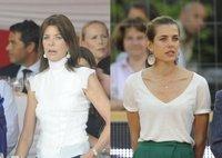 Boda Real en Mónaco: Carolina de Mónaco y su hija Carlota se relajan antes de la ceremonia