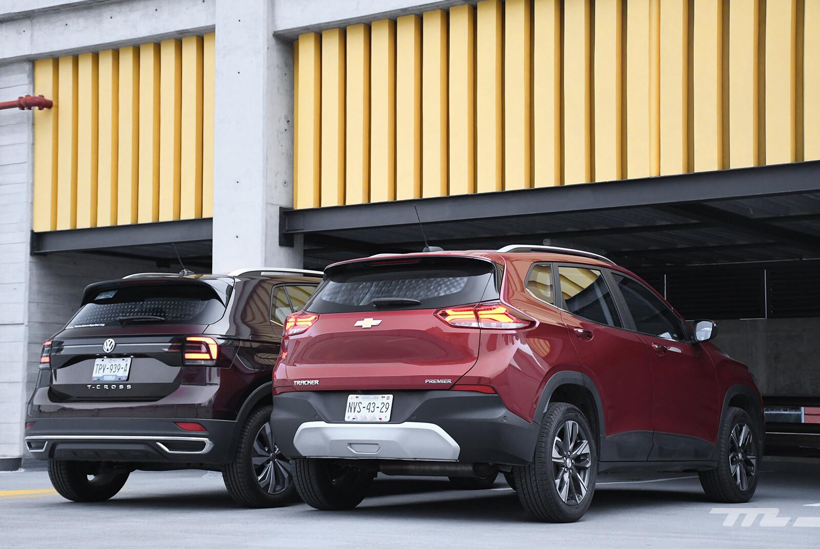 Foto de Chevrolet Tracker vs. Volkswagen T-Cross (comparativa) (7/29)