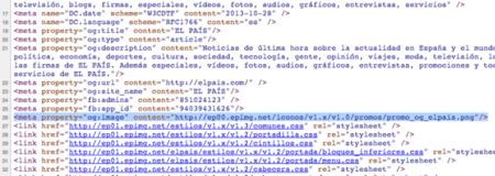 Código Fuente El País