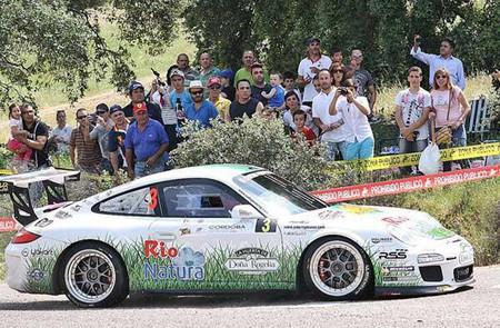 Triunfo de los hermanos Vallejo con su nuevo Porsche en el Sierra Morena