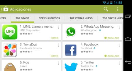 Google Play ya supera a la App Store en cantidad de descargas