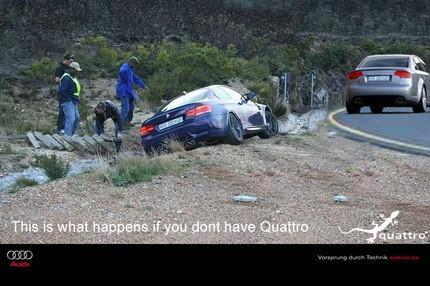 Audi vs BMW las desventajas de que el M3 no tenga Quattro