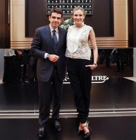 Diane Kruger para Jaeger-LeCoultre, un look elegante de 3.1 Phillip Lim