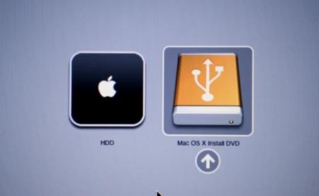 Mac OS X install DVD en memoria USB