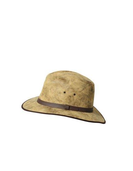 Zara piel sombrero de moda