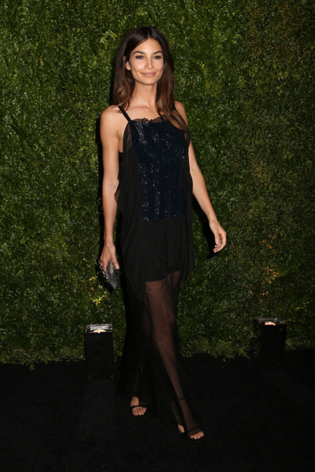 Lily Aldridge Chanel Tribeca 2014