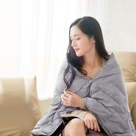 Oferta Flash: manta de viaje Xiaomi, con relleno de plumas, por sólo 22,77 euros y envío gratis