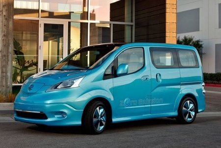 Nissan nos muestra por primera vez la e-NV200