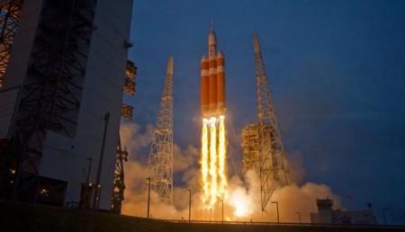 Orión, la misión que nos podría llevar a Marte, ya está en el espacio