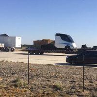 Este podría ser el nuevo camión de Tesla, aunque no estamos todavía del todo seguros