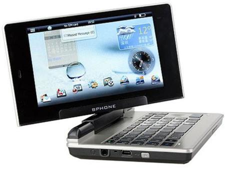BPhone, a medio camino de un smartphone y un netbook