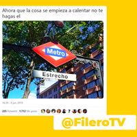 """""""Lo siento, yo estoy Noviciado"""": La conversación tuitera y sexual basada en las estaciones del metro de Madrid"""