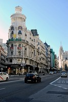 Edificios emblemáticos de la Gran Vía de Madrid: primer tramo (I)