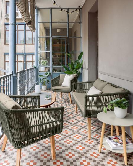 Siete ideas para montar una terraza o balcón de diseño low-cost